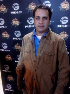 Gustavo Loza, producer of the series.