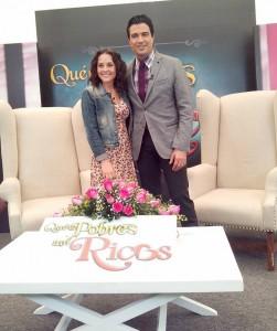 Jaime Camil y Zuria Vega, protagonistas del melodrama