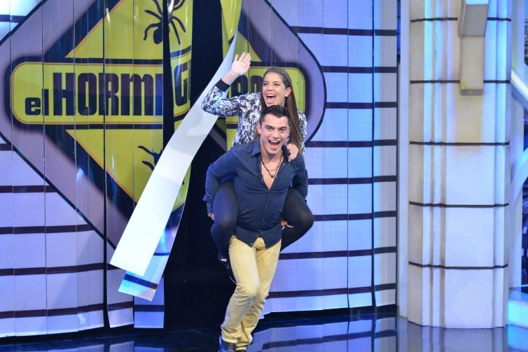 Alejandra Orozco y Yael Castillo El Hormiguero