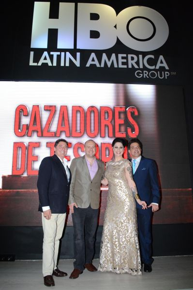 Eddy Ruiz, Cesar Coletti, Danielle Colby, Cesar Sabroso -