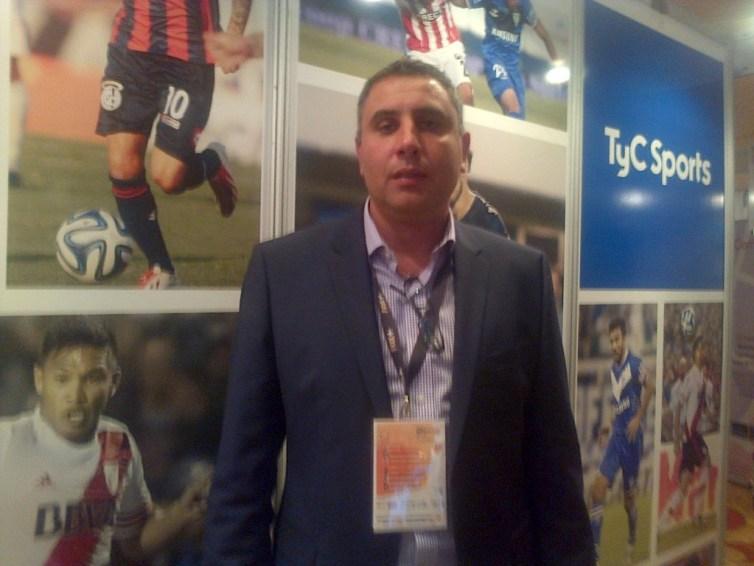 Hernan Chiofalo, gerente de negocios internacionales y digitales TyCSPORTS
