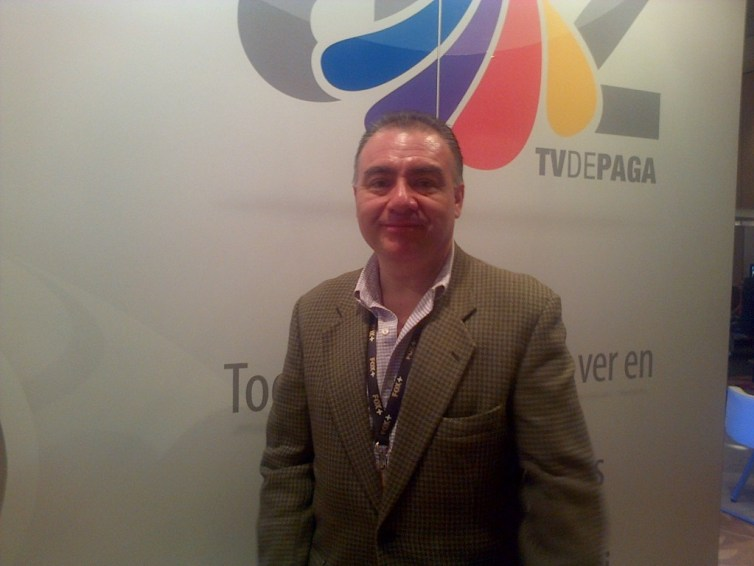 Jorge Gutierrez Razo, gerente de mercadotecnia Tv de pago para Azteca TV