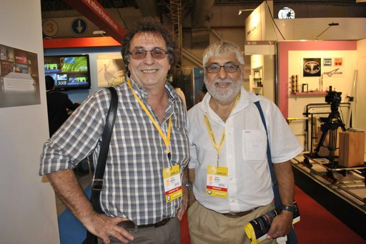 Jorge Gambier y Mario Grossi de Reportv