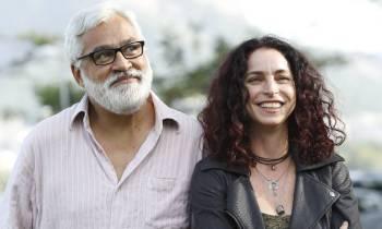 ROSANE SVARTMAN Y PAULO HALM ESCRITORES. Foto: Oglobo