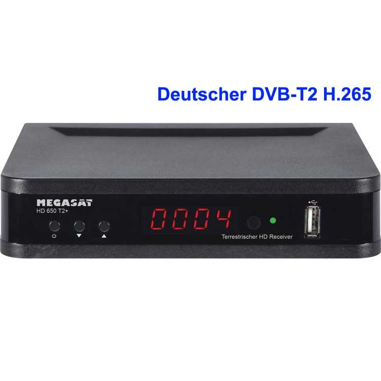 Deutscher DVB-T2 H265