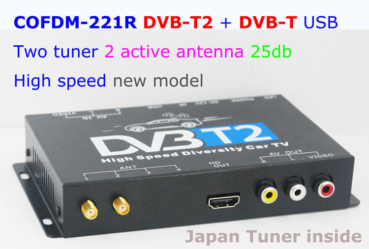 COFDM-221R HD Wireless Video Receiver COFDM AV 1080P Transmission image Transceiver CVBS 170~900Mhz
