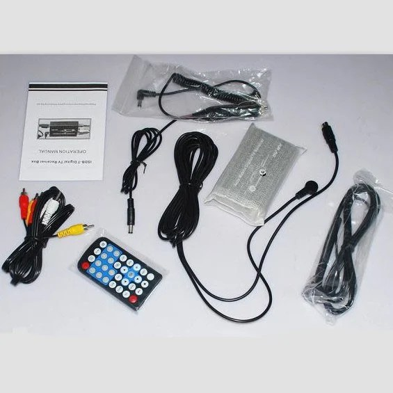 One seg auto mobile tv tuner MPEG car tv receive box ISDB-T5009