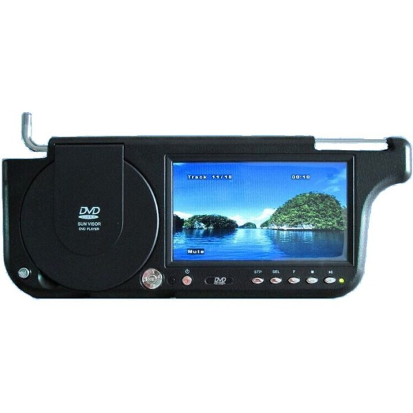 Sunvisor DVD player