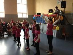 Kindertanzgruppe des TVO