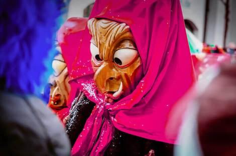Блинные бега. Масленица в европейских странах с карнавалами.
