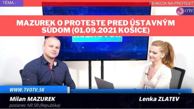 Milan Mazurek v TV OTV