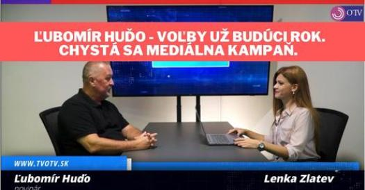 Ľubomír Huďo v TV OTV