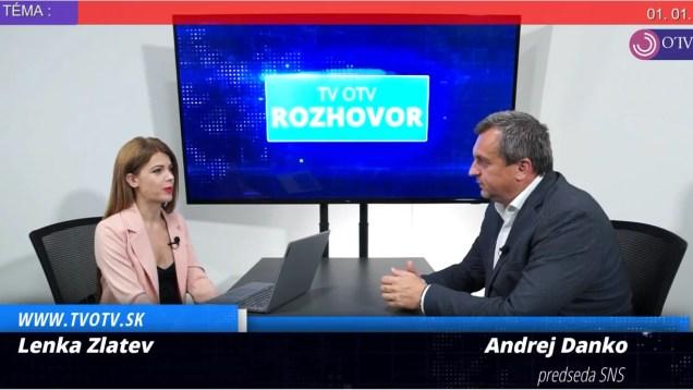 Možný nárast cien energií? Nekompetentnosť vlády a ostré slová na opozíciu-Andrej Danko  v TV OTV