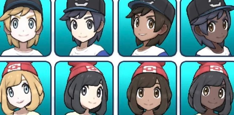The Five Best Hairstyles In Pokemon Ultra Sun And Ultra Moon
