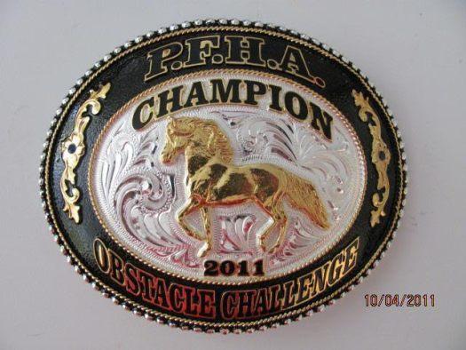 PFHA Champion RR Buckle