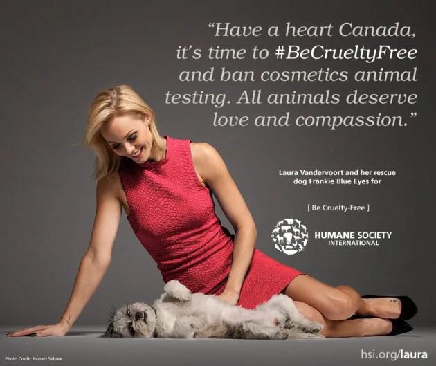 Laura Vandervoor Be Cruelty-Free