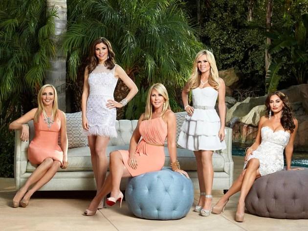 "Shannon Beador, Heather Dubrow, Vicki Gunvalson, Tamra Barney, Danielle Gregorio, Elizabeth ""Lizzie"" Rovsek"