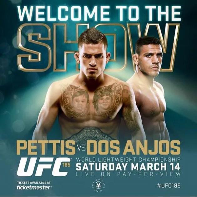 UFC 185: Pettis c. Dos Anjos