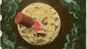 Photogramme colorié du Voyage dans la Lune (1902)