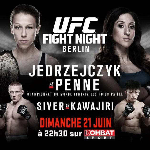 Fight Night Berlin: Jedrzejczyk vs. Penne
