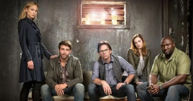 ZOO (G-D) Nora Arnezeder, James Wolk, Billy Burke, Kristen Connolly et Nonso Anozie .