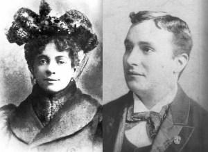 Hannah Hill et Charles Chaplin Sr.