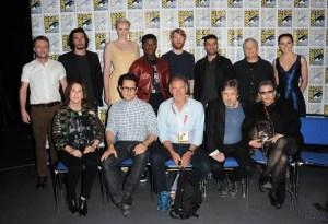 L'équipe du film le 10 juillet 2015