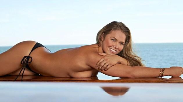 Ronda Rousey, SI Swimsuit 2015