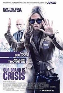 Talk-shows américains : Sandra Bullock pour Our Brand is Crisis