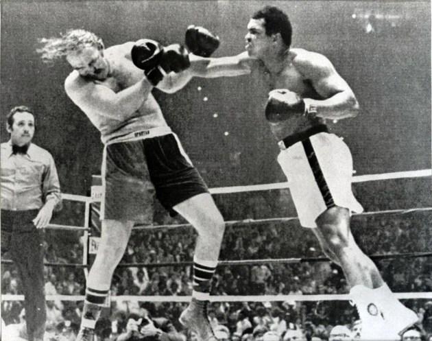 Chuck Wepner vs. Muhammad Ali le 24 mars 1975.