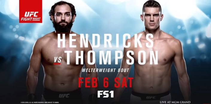UFC Fight Night: Hendricks vs Thompson