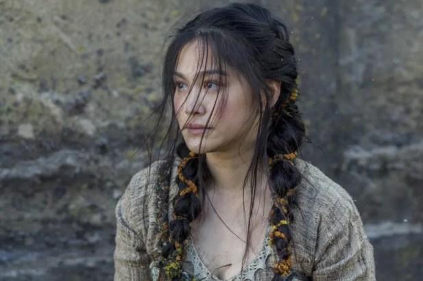 Ragnar va devenir fasciné par Yidu (Dianne Doan) dans la saison 4 de Vikings.