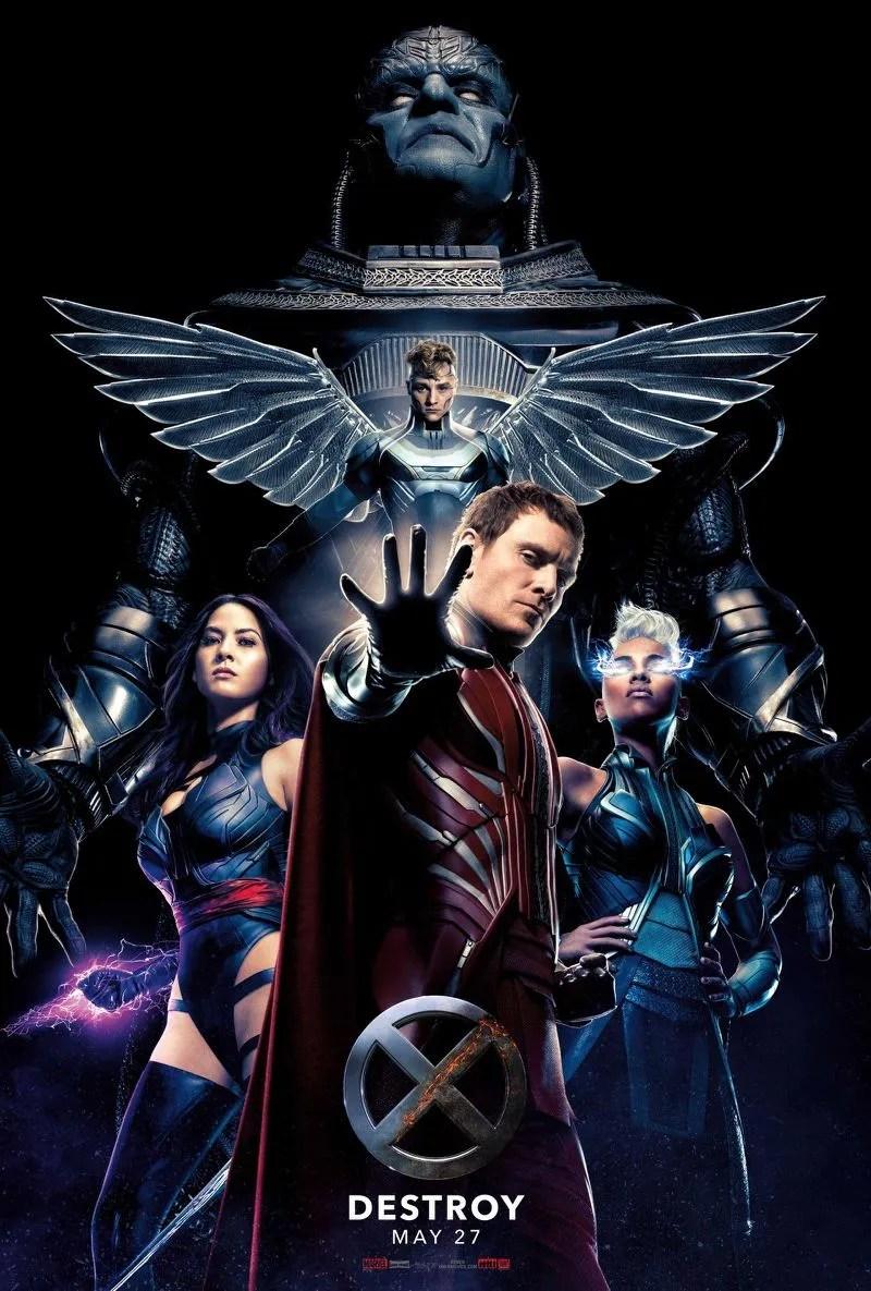 X-Men: Apocalypse cavaliers de l'Apocalypse