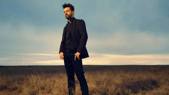 Dominic Cooper est Jesse Custer;- Preacher _ Saison 1,  Photo Credit: Matthias Clamer/AMC