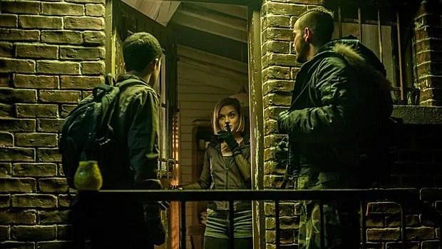 Dylan Minnette, Jane Levy et Daniel Zovatto dans Don't Breathe.