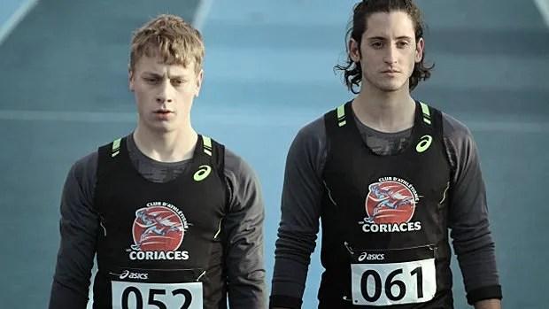 Antoine Olivier Pilon et Lou-Pascal Tremblay dans 1:54.