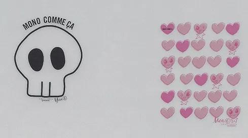 dessinés par Yui et Moa
