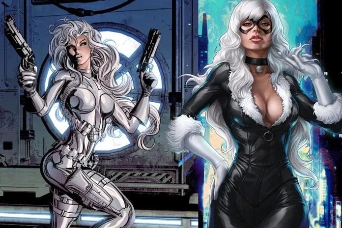 Silver Sable & Black Cat