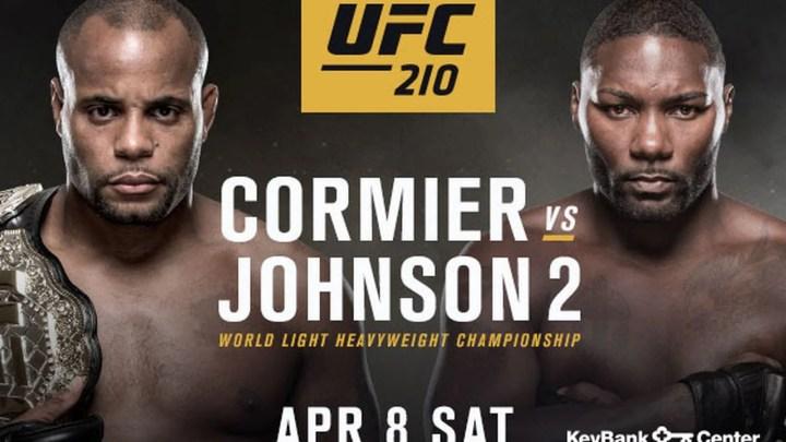 UFC 210 Cormier vs Johnson 2