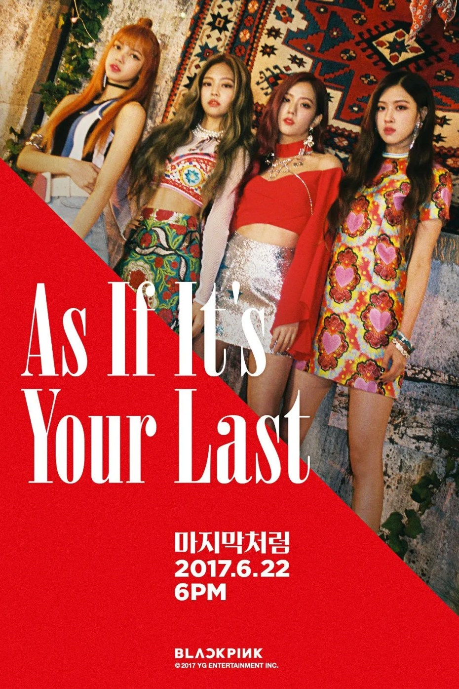 BLACKPINK – AS IF IT'S YOUR LAST