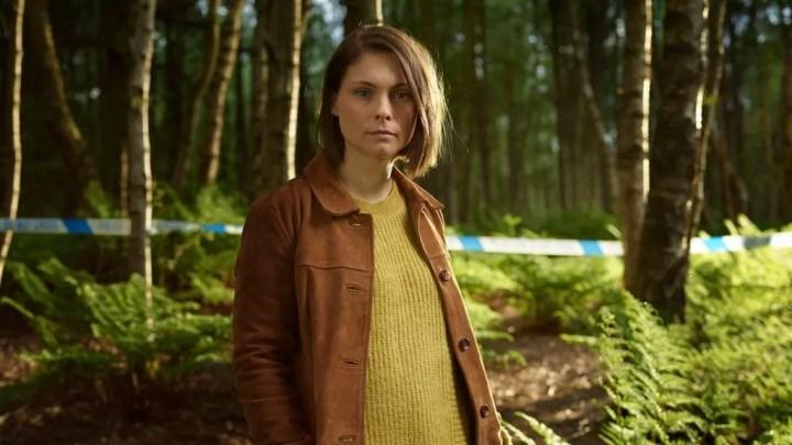 MyAnna Buring in BBC One drama In The Dark
