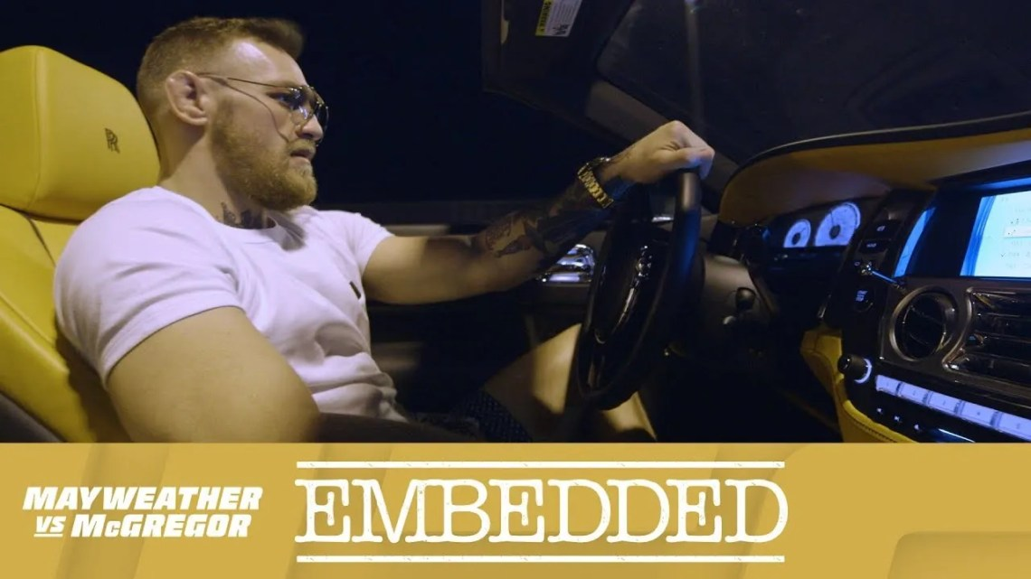 Mayweather vs McGregor Embedded