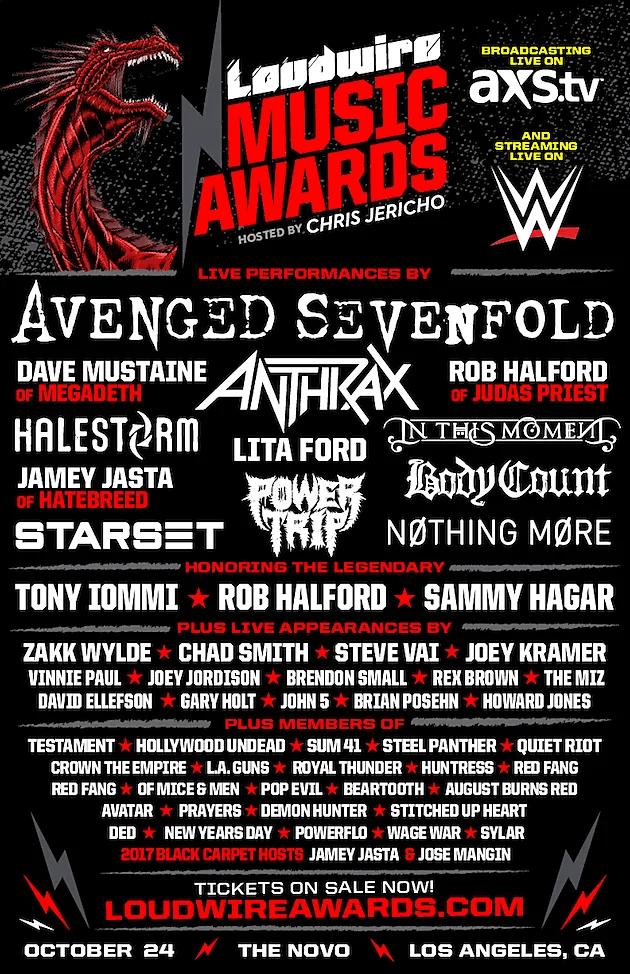 Loudwire Music Awards 2017