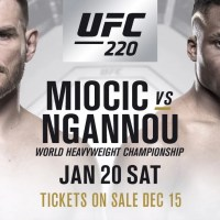 UFC 220: Miocic vs Ngannou: Live streams et en direct sur Indigo