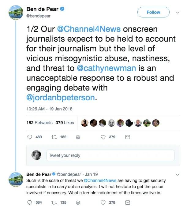 Jordan Peterson vs Cathy Newman