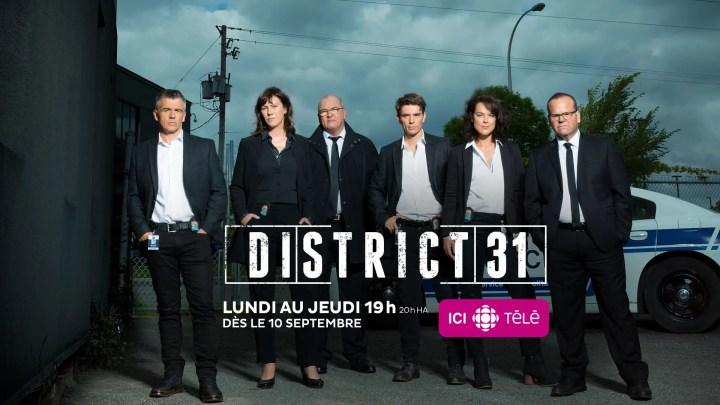 District 31 saison 3