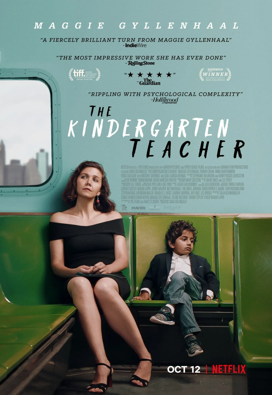 L'enseignante de maternelle