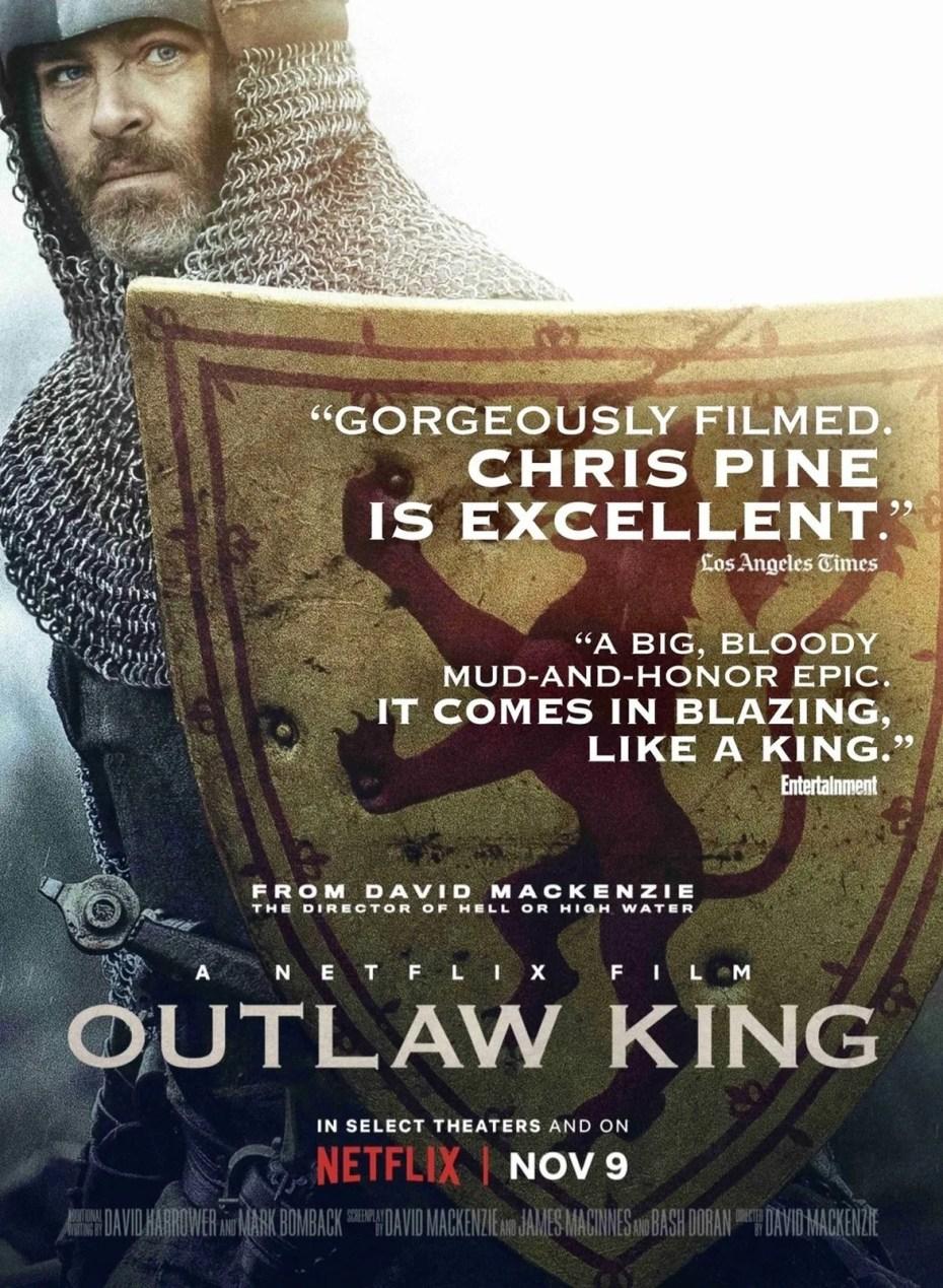 OUTLAW KING  Le roi hors-la-loi a été réalisé par David Mackenzie