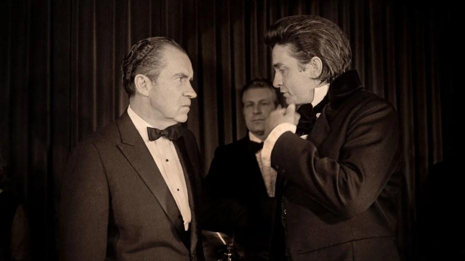Rematricée  Richard Nixon et l'Homme en noir