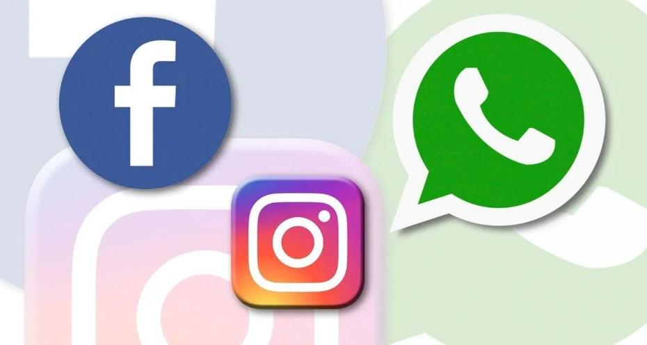 Facebook, WhatsApp et Instagram